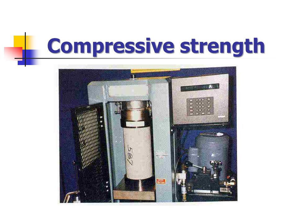Compressive strength