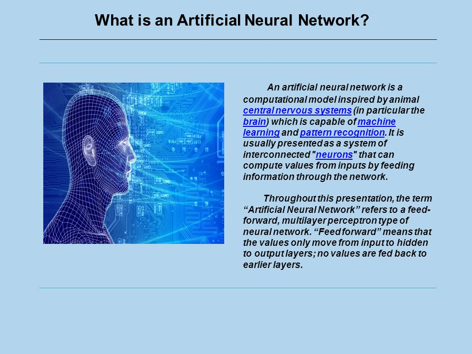 What is an Artificial Neural Network.