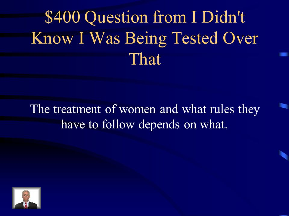 $300 Answer from I Didn t Know I Was Being Tested Over That Persian Gulf States