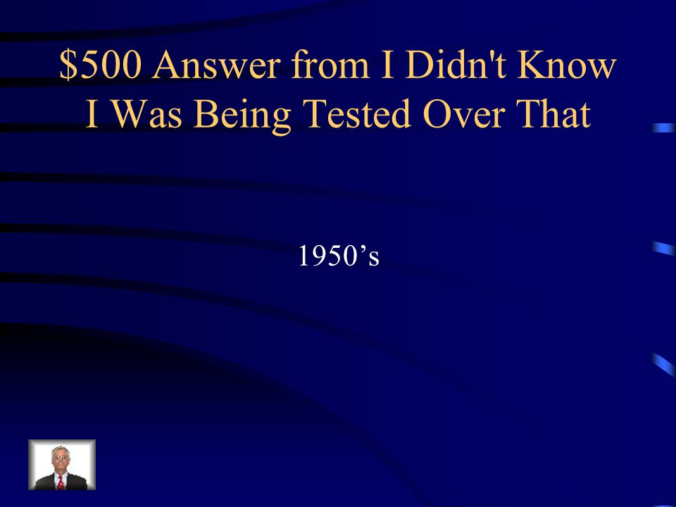 $500 Question from I Didn t Know I Was Being Tested Over That Islam was dismissed as Pre-Modern and obsolete in most Middle Eastern countries by this decade.