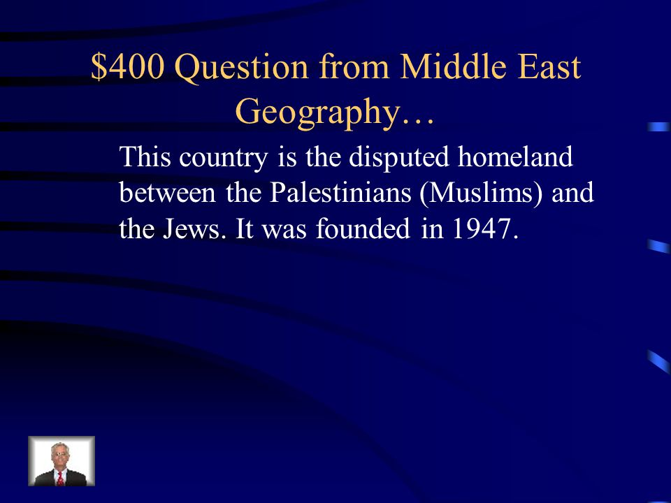 $300 Answer from Middle East Geography… Mecca