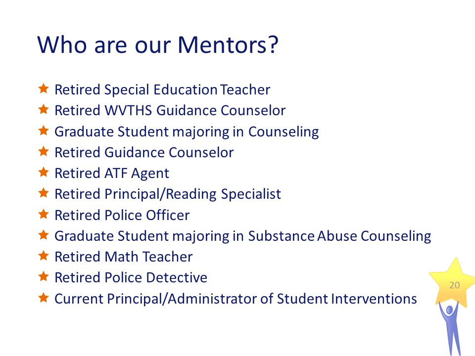 Who are our Mentors.