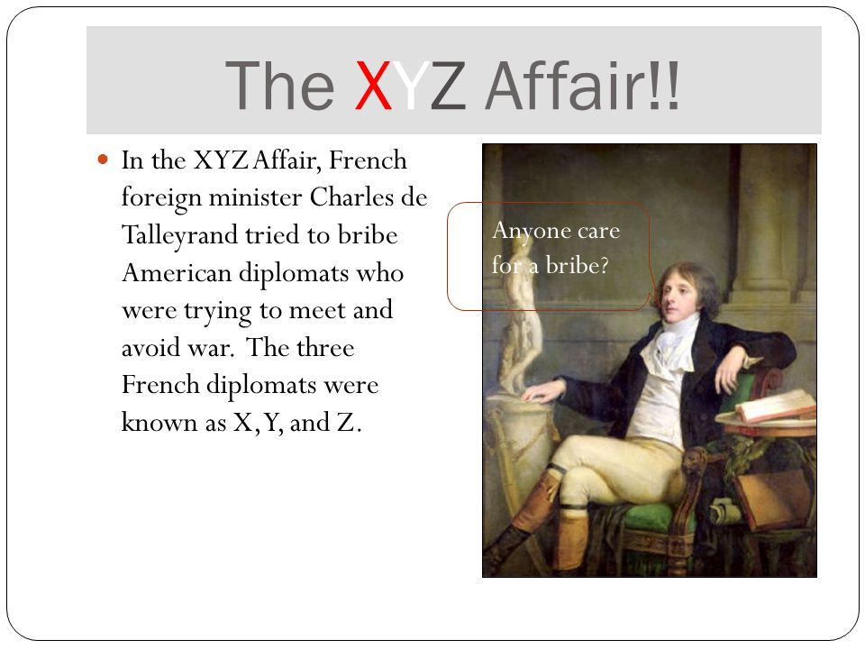 The XYZ Affair!.