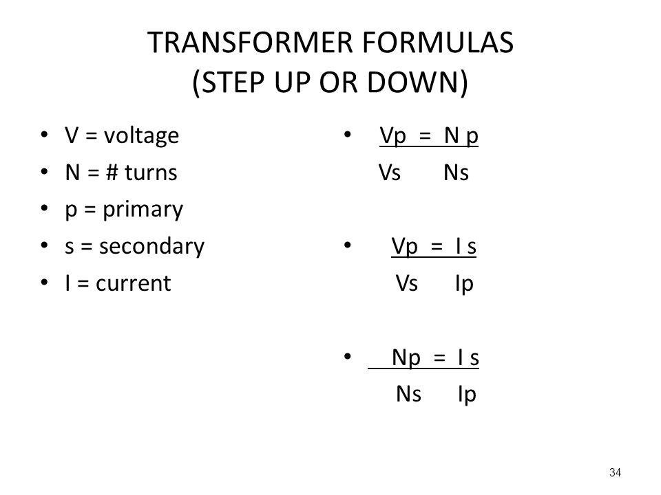 Circuitry formulas Ch5 Bushong RT 244 – 12 Lect # ppt download
