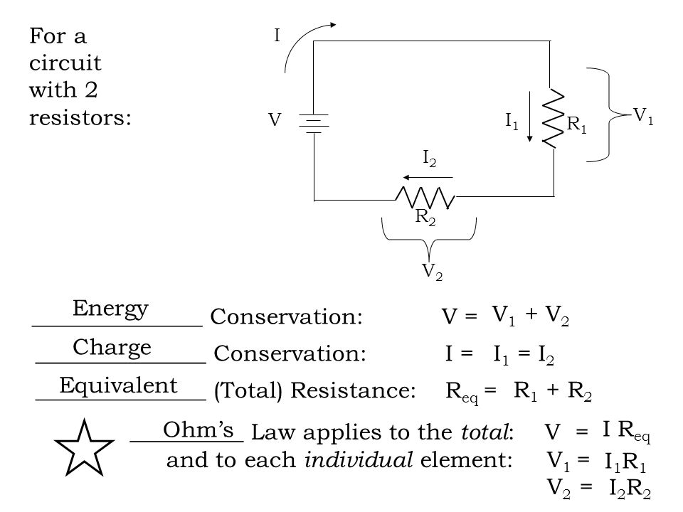 Series Circuits Other Examples Series Circuits Assume 1