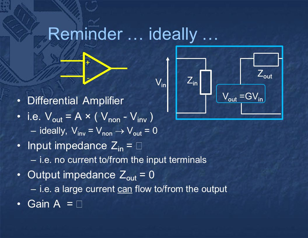 Op Amp Circuits Alan Murray Agenda Circuit Analysis Non Practical Inverting Amplifier Using 741 Differential Ie