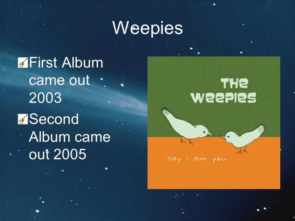 Collegium Musicaum Project The Weepies The World Spins Madly On