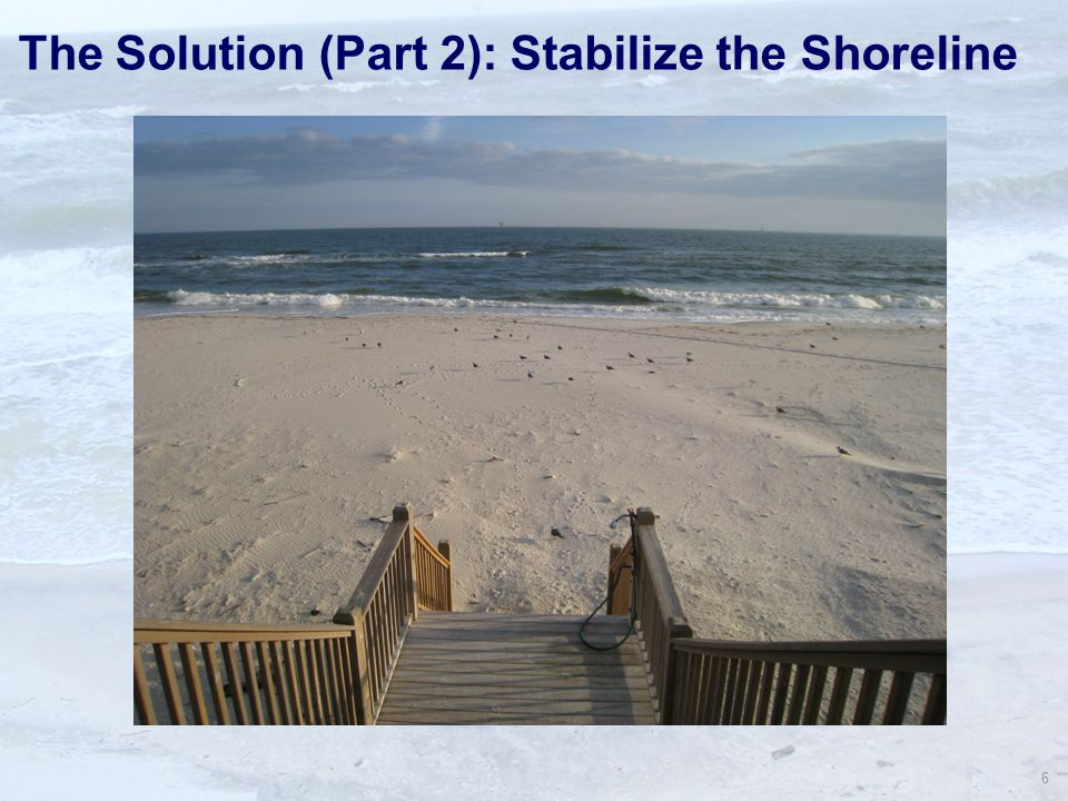 6 The Solution (Part 2): Stabilize the Shoreline
