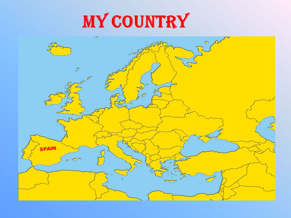 SPAIN MY COUNTRY