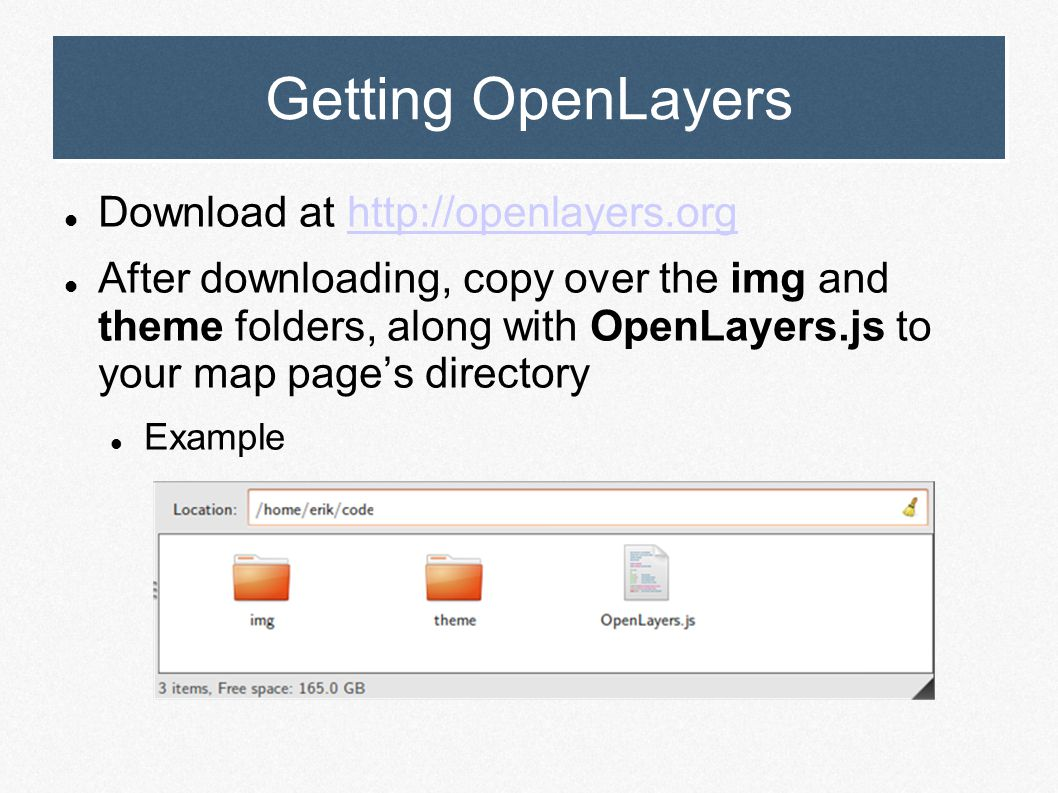 OpenLayers Open Source Web Map Development with OpenLayers