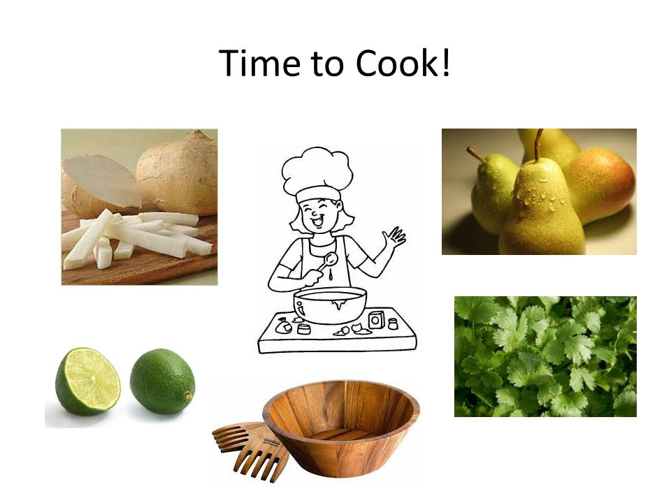 Time to Cook!
