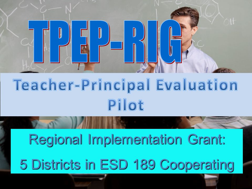 Regional Implementation Grant: 5 Districts in ESD 189 Cooperating