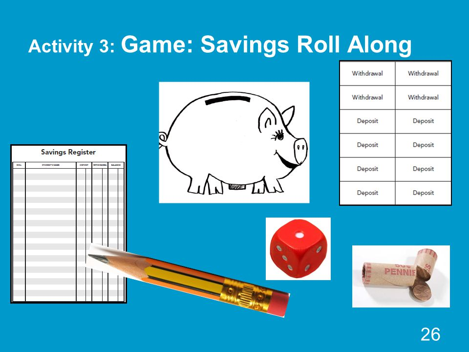 Activity 3: Game: Savings Roll Along 26