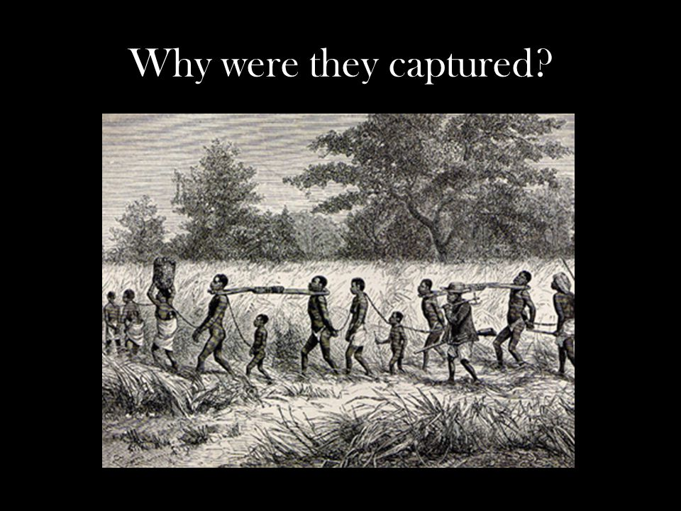 Why were they captured