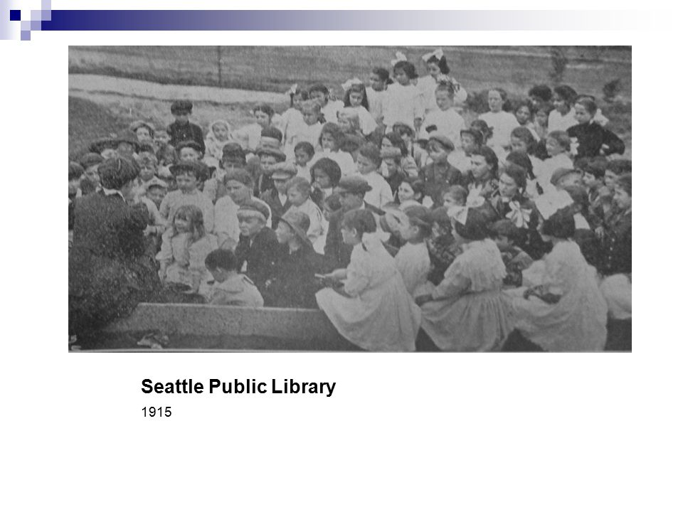 Seattle Public Library 1915
