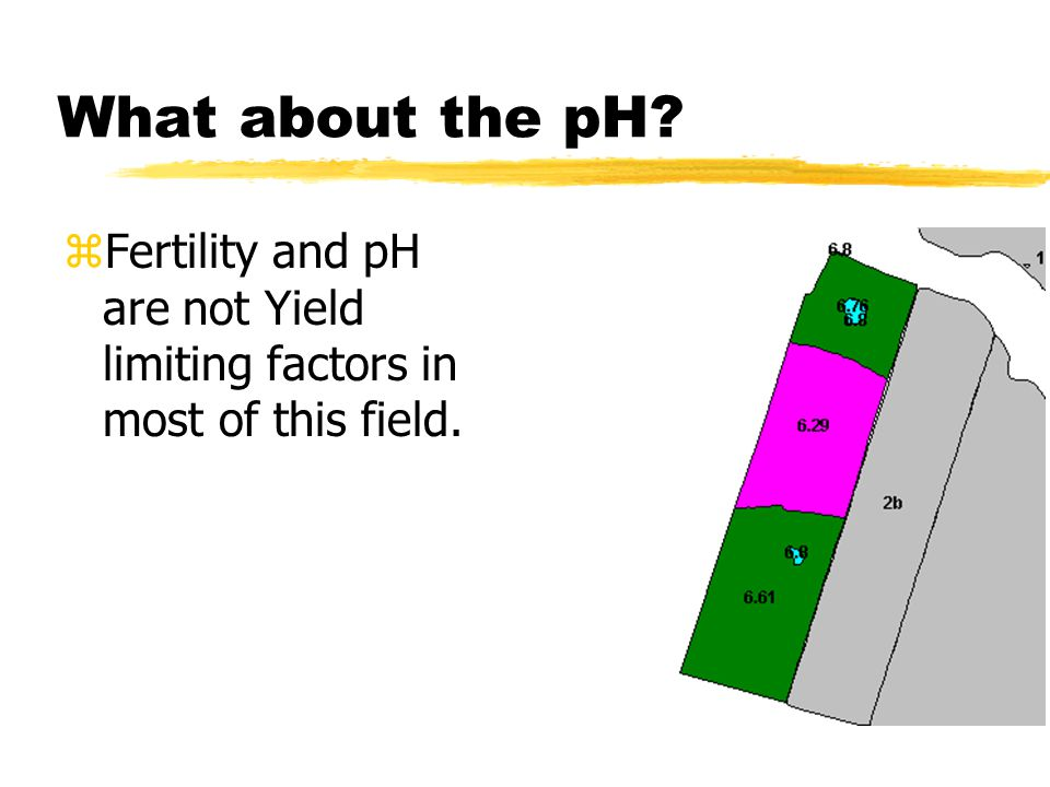 Lets look at the fertility levels Phosphate Levels Potassium Levels