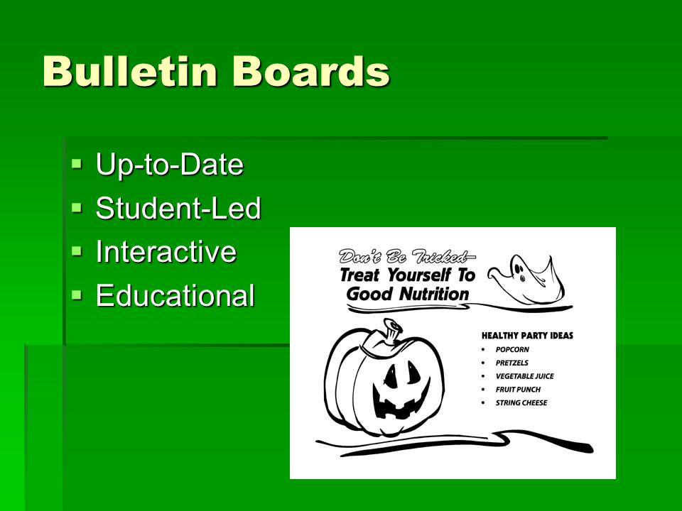 Bulletin Boards  Up-to-Date  Student-Led  Interactive  Educational