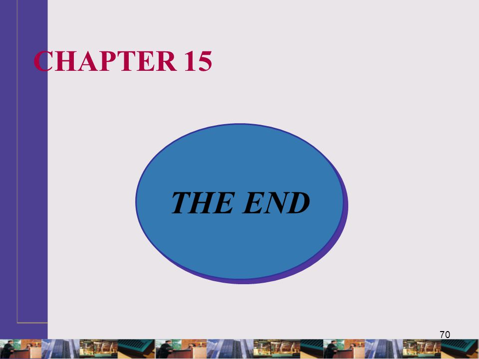 70 THE END CHAPTER 15