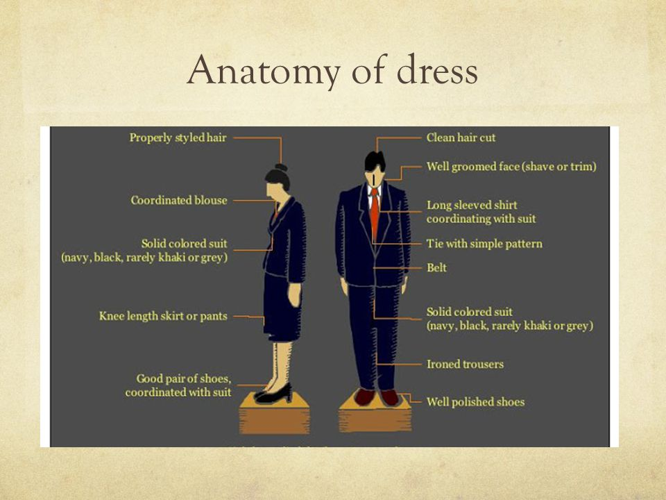 Anatomy of dress