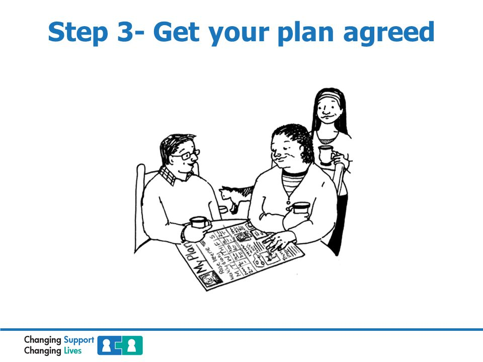 Step 3- Get your plan agreed