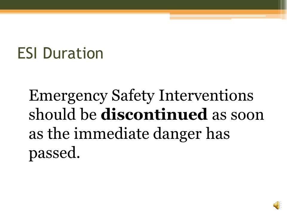 Emergency Ask yourself: ▫Is the student an immediate danger to themselves.