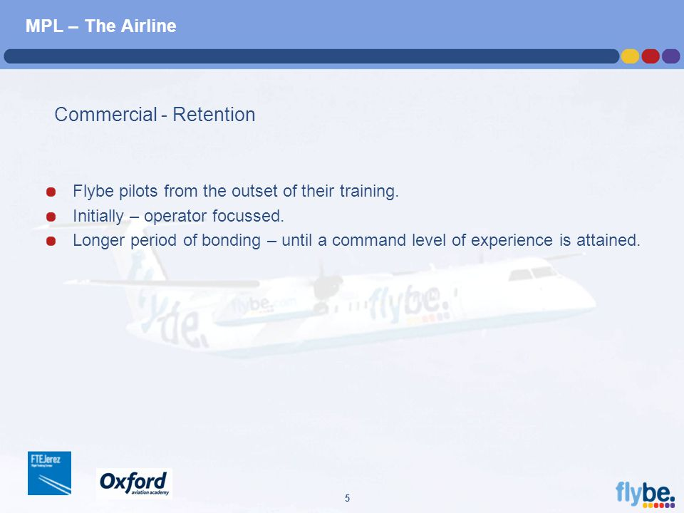 A4 FORMAT Please don't change page set up to A3, print to A3 paper and fit to scale 5 MPL – The Airline Flybe pilots from the outset of their training.