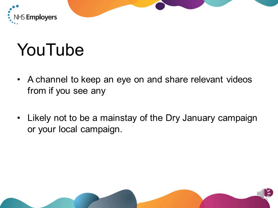 Instagram Do Share Dry January's posts Get out to your staff events and get content for your account, e.g.