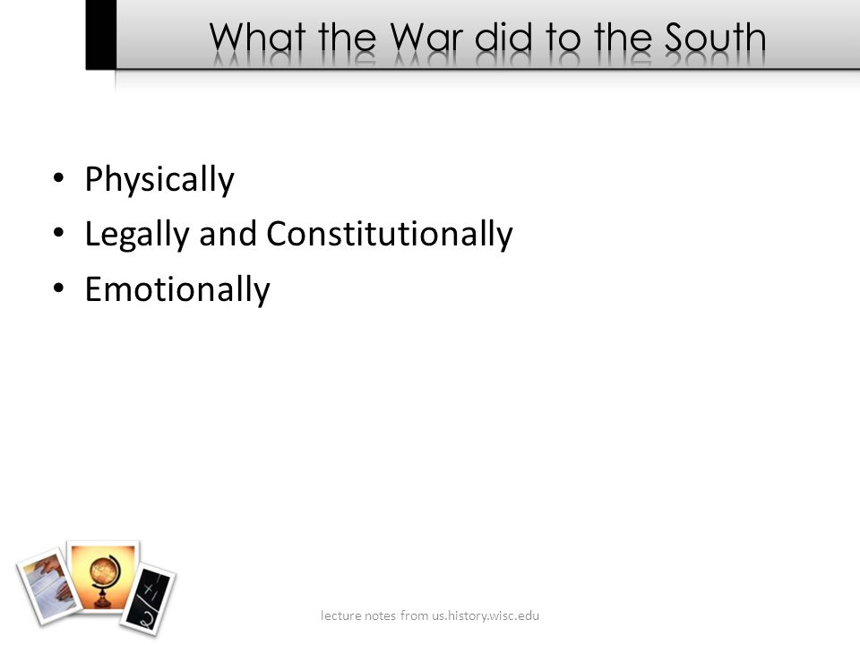 Physically Legally and Constitutionally Emotionally lecture notes from us.history.wisc.edu