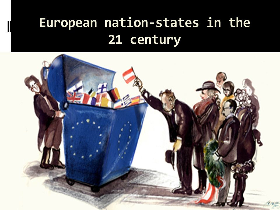 European nation-states in the 21 century