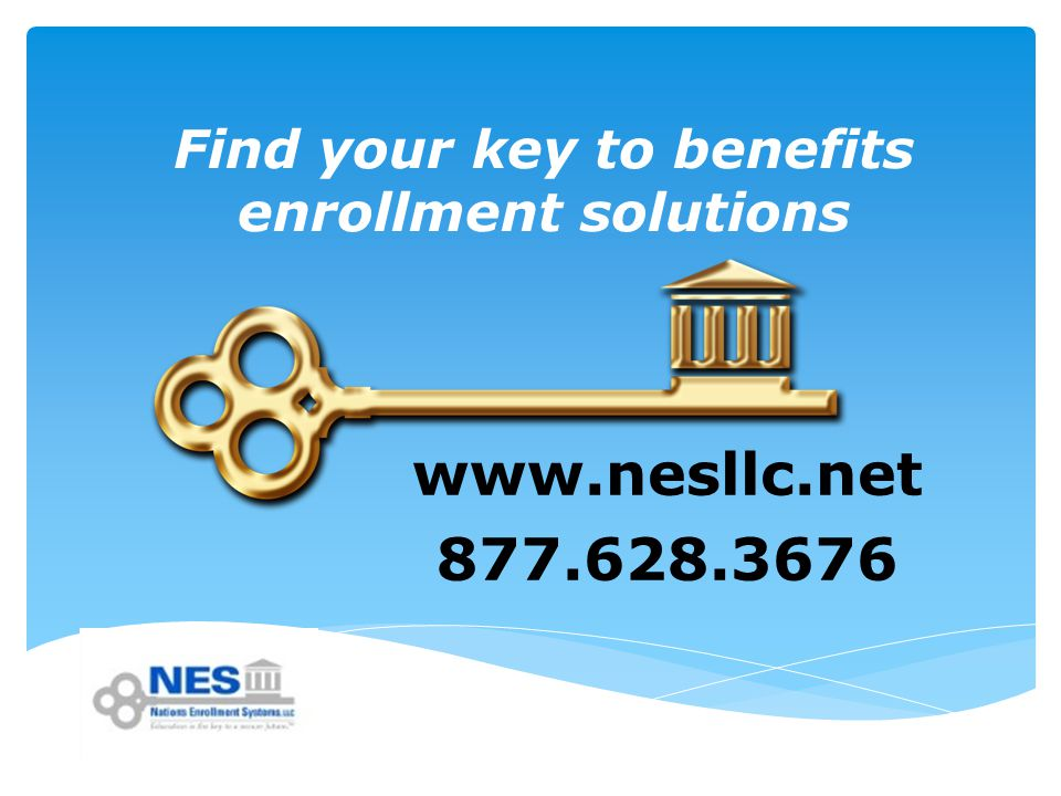 Find your key to benefits enrollment solutions
