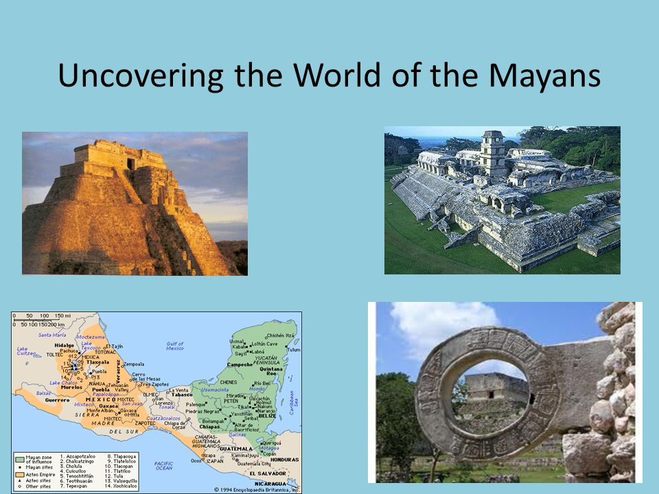 Uncovering the World of the Mayans