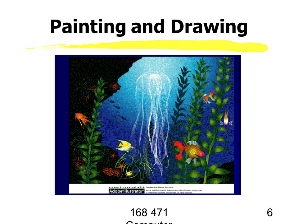 168 471 Computer Graphics, KKU. Lecture 1 6 Painting and Drawing