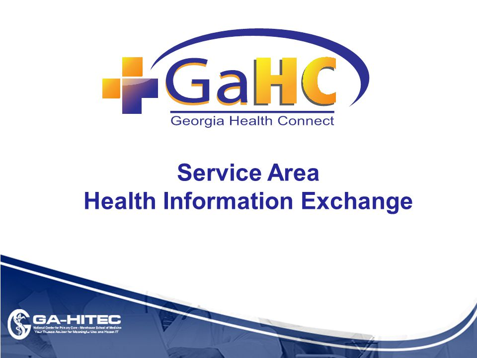 Service Area Health Information Exchange