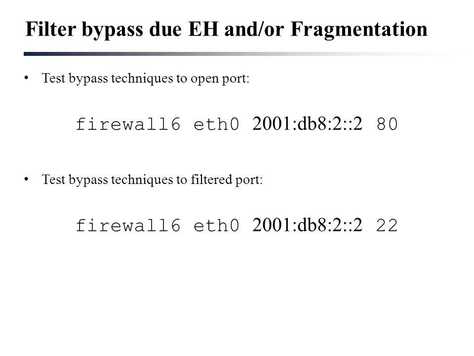 Fernando Gont Marc Heuse Security Assessments of IPv6