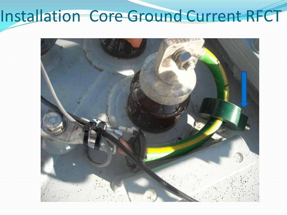 Installation Core Ground Current RFCT
