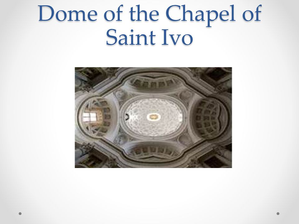 Dome of the Chapel of Saint Ivo