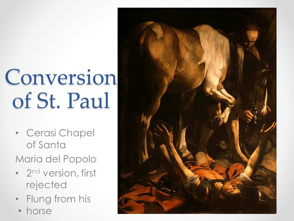 Conversion of St.
