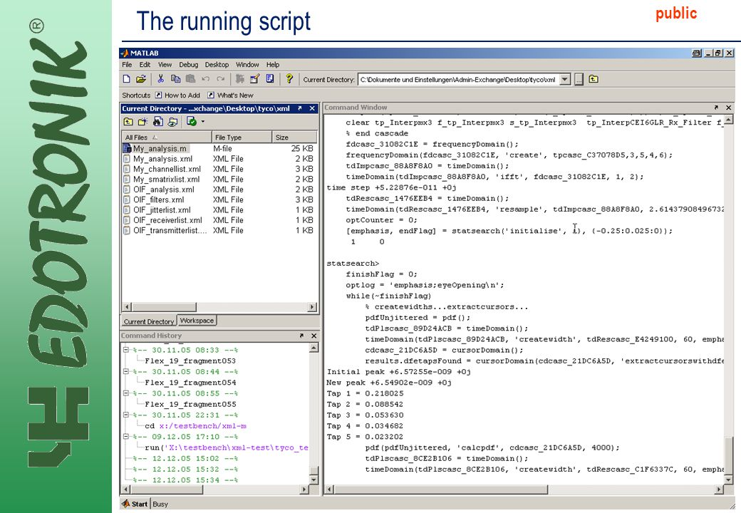 MP IP Strategy 2005-06-22 public The running script