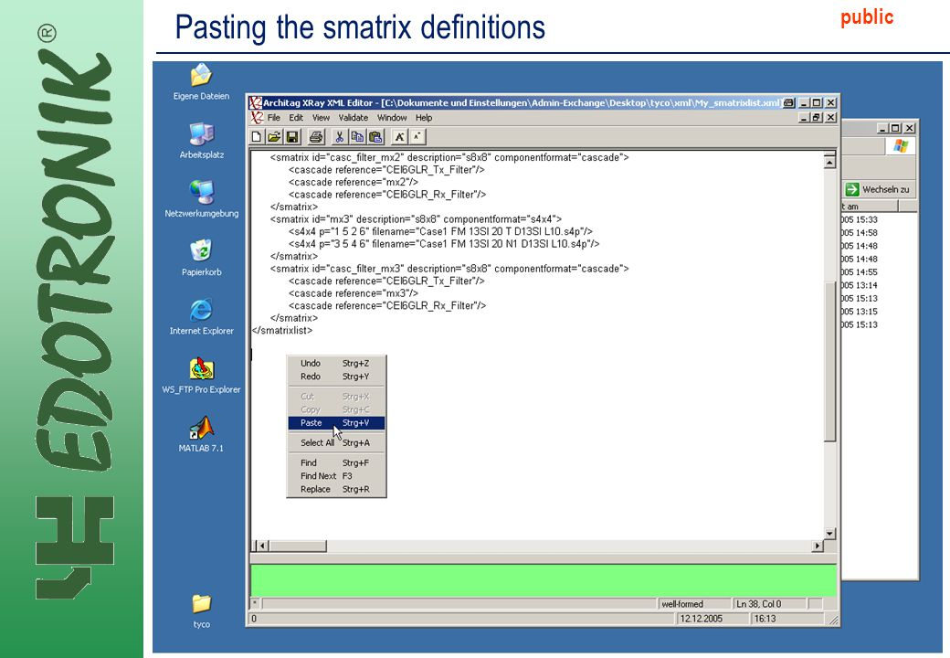 MP IP Strategy 2005-06-22 public Pasting the smatrix definitions