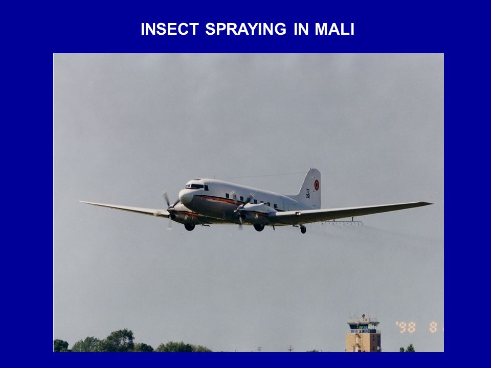 INSECT SPRAYING IN MALI