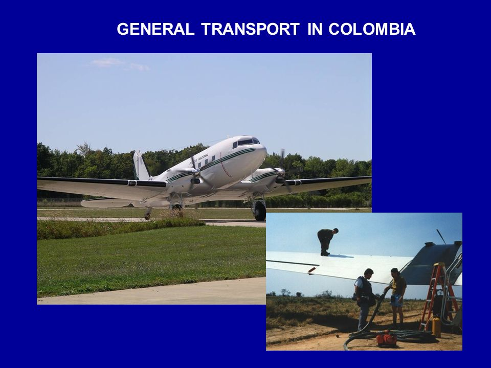 GENERAL TRANSPORT IN COLOMBIA