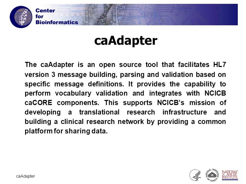 1 caAdapter Jan 24, caAdapter The caAdapter is an open