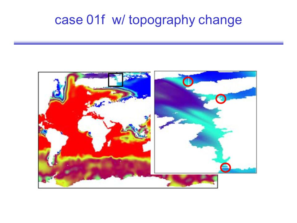 case 01f w/ topography change