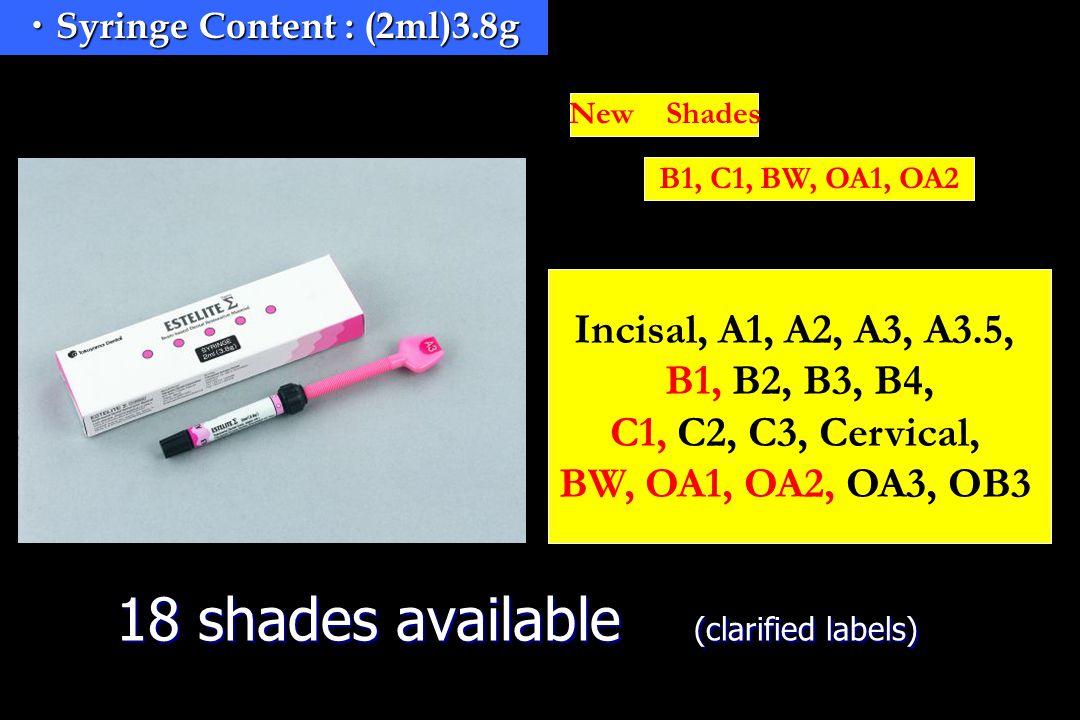 Tokuyama Dental Corp  ESTELITE Σ Composite Resin for