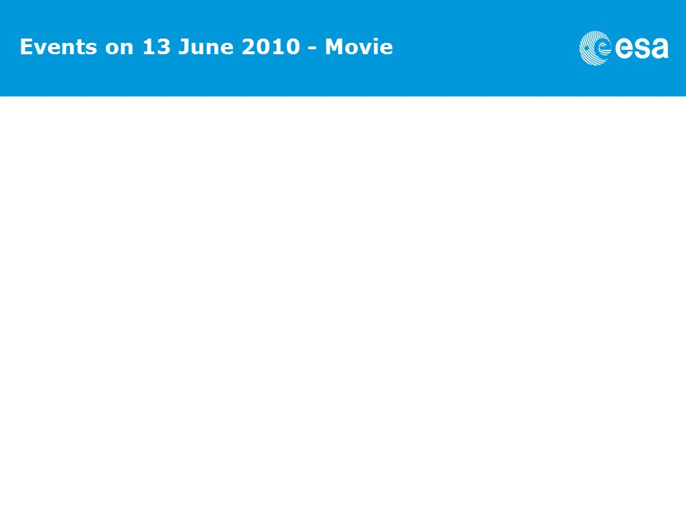Events on 13 June 2010 - Movie