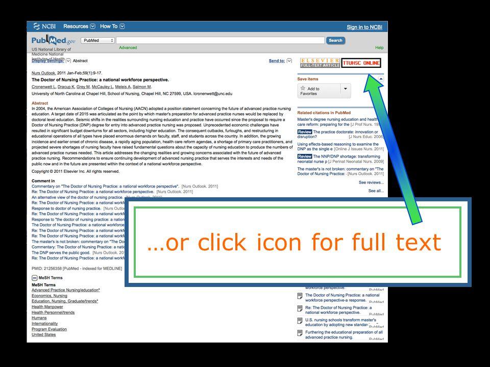 How To Search Pubmed Ttuhsc Preston Smith Library Presents Rev 11
