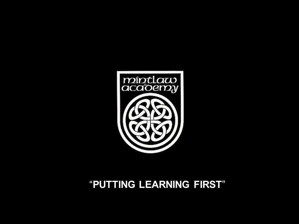 PUTTING LEARNING FIRST