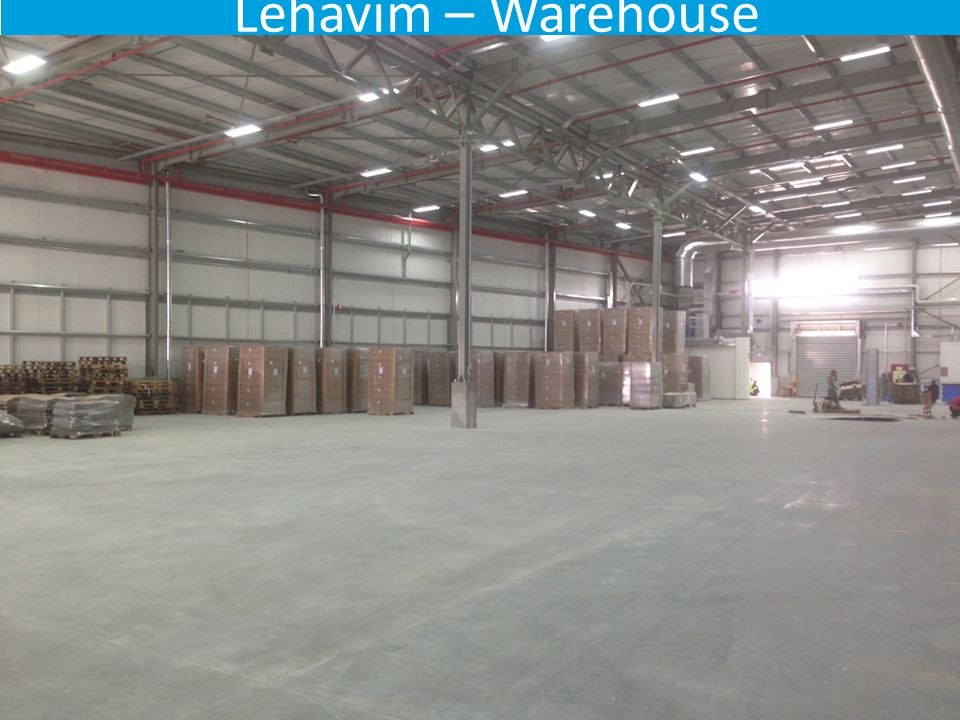 Lehavim – Warehouse