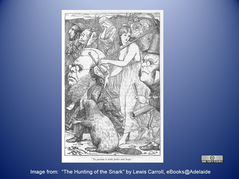 Image from: The Hunting of the Snark by Lewis Carroll, eBooks@Adelaide