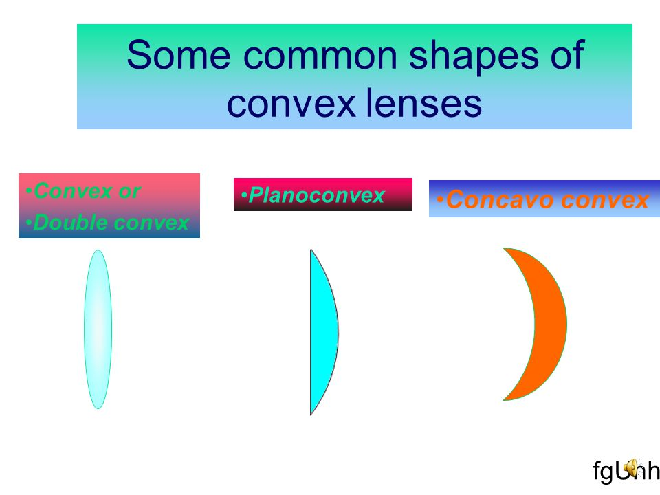 Concave lens :-A parallel beam of light incident on a concave lens diverges after refraction, it is therefore also known as diverging lens.